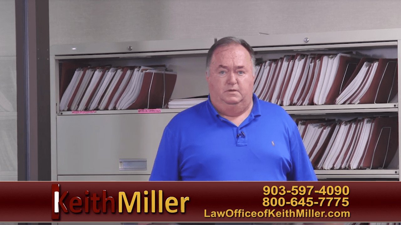 Keith Miller Tyler, TX Policy Questions Commercial